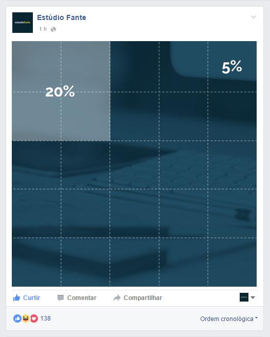 Tamanho de imagens para anúncios no Facebook