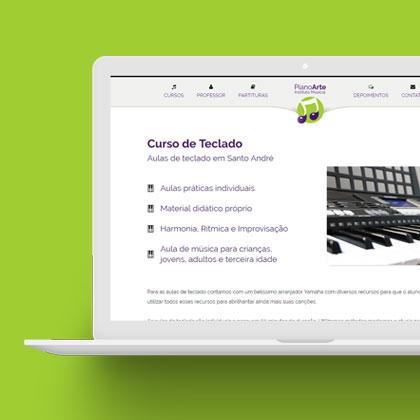 Piano Arte - Estudio Fante Agência Digital